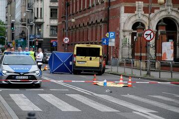 Śmiertelny wypadek w Katowicach