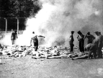 Sonderkommando w Auschwitz-Birkenau, sierpień 1944 r.
