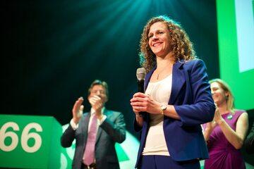 Sophie in 't Veld, holenderska polityk, posłanka do Parlamentu Europejskiego