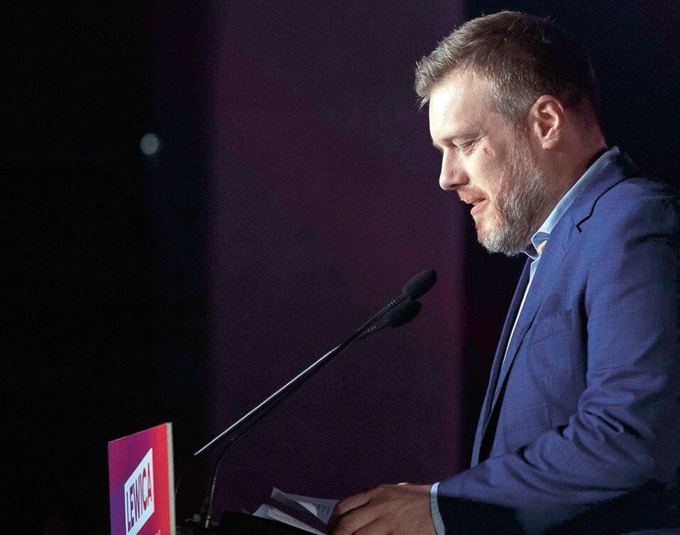 Specjalnością Adriana Zandberga (na zdjęciu), a za nim aktywistów Razem stały się zręczne polemiki słowne z krytykami idealizacji Marksa.