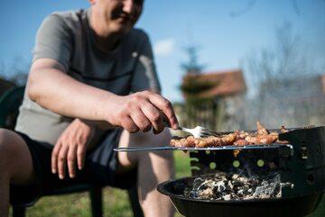 Spotkania przy grillu, zdjęcie ilustracyjne