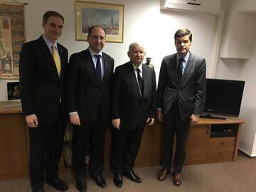 Spotkanie Kaczyńskiego z Mittchelem
