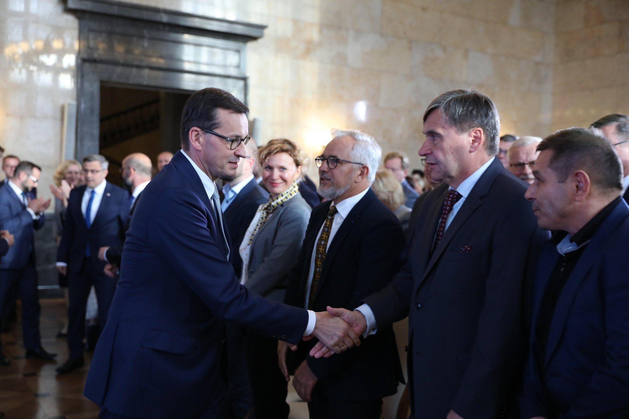 Spotkanie premiera z przedsiębiorcami w Katowicach