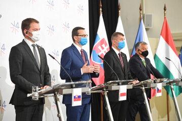 Spotkanie przywódców państw Grupy Wyszehradzkiej