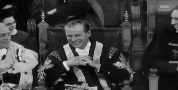 Stacja BBC Scotland przez pomyłkę na chwilę wyświetliła archiwalne czarno-białe nagranie z księciem Filipem.