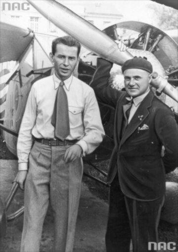 Stanisław Wigura i Franciszek Żwirko