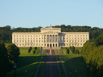 Stormont - siedziba parlamentu Północnej Irlandii
