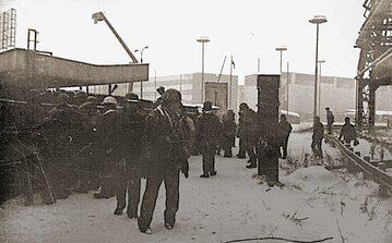 Strajk w Hucie Katowice, grudzień 1981 rok