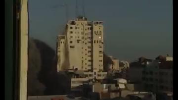 Strefa Gazy. Zburzono budynek Sunrise Tower