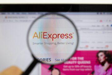 Strona internetowa AliExpress, zdjęcie ilustracyjne