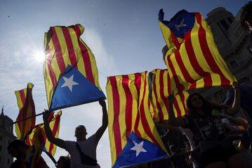 Studenci w Barcelonie