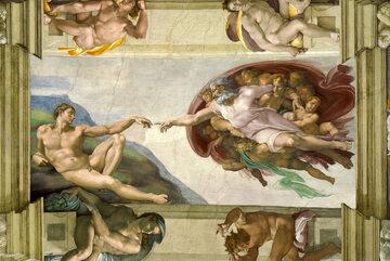 Stworzenie Adama – fresk autorstwa Michała Anioła