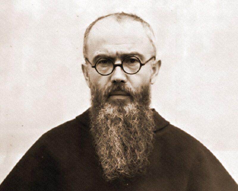 Św. o. Maksymilian Maria Kolbe w 1936 roku.