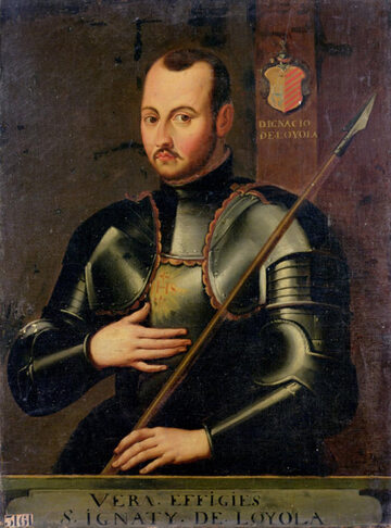 Święty Ignacy de Loyola, autor nieznany