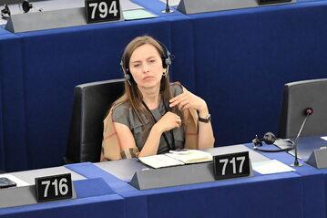 Sylwia Spurek w Parlamencie Europejskim