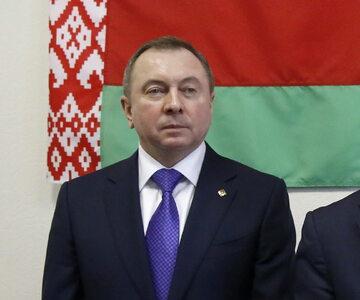 Szef białoruskiej dyplomacji Uładzimir Makiej.
