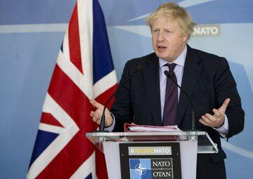 Szef brytyjskiej dyplomacji Boris Johnson