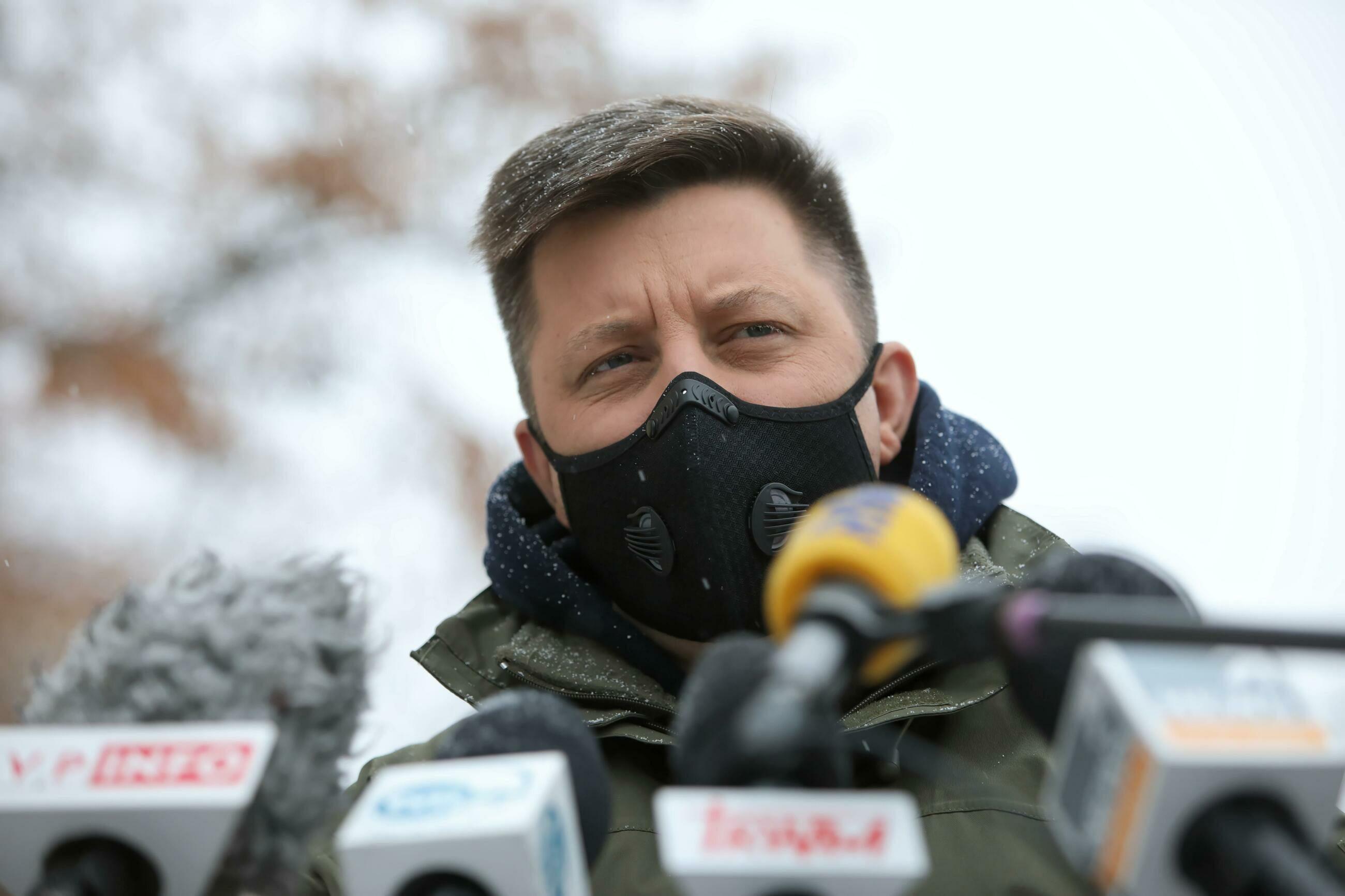Szef KPRM, pełnomocnik rządu do spraw narodowego programu szczepień ochronnych przeciwko wirusowi SARS-CoV-2 Michał Dworczyk
