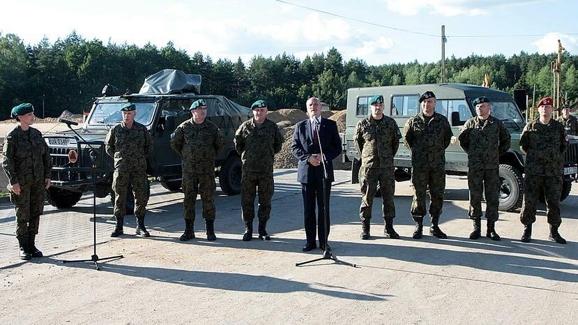Szef MON Antoni Macierewicz w Białymstoku