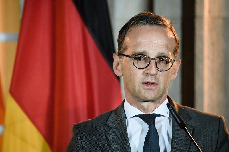 Szef MSZ Niemiec Heiko Maas