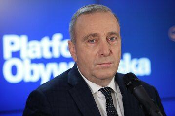 Szef PO Grzegorz Schetyna