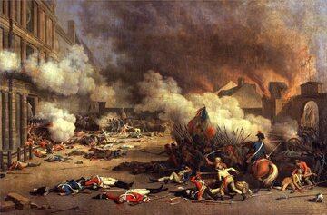 Szturm sankiulotów na pałac Tuileries – 10 sierpnia 1792 roku