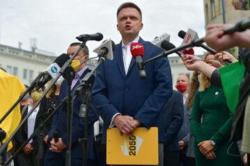 Szymon Hołownia, lider ruchu 2050