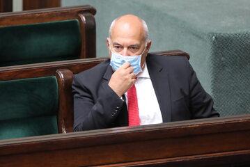 Tadeusz Kościński w Sejmie