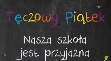 Tęczowy piątek - plakat KPH