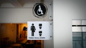 """Toaleta """"przyjazna dla wszystkich płci"""""""