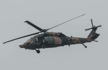 Turecki helikopter wojskowy