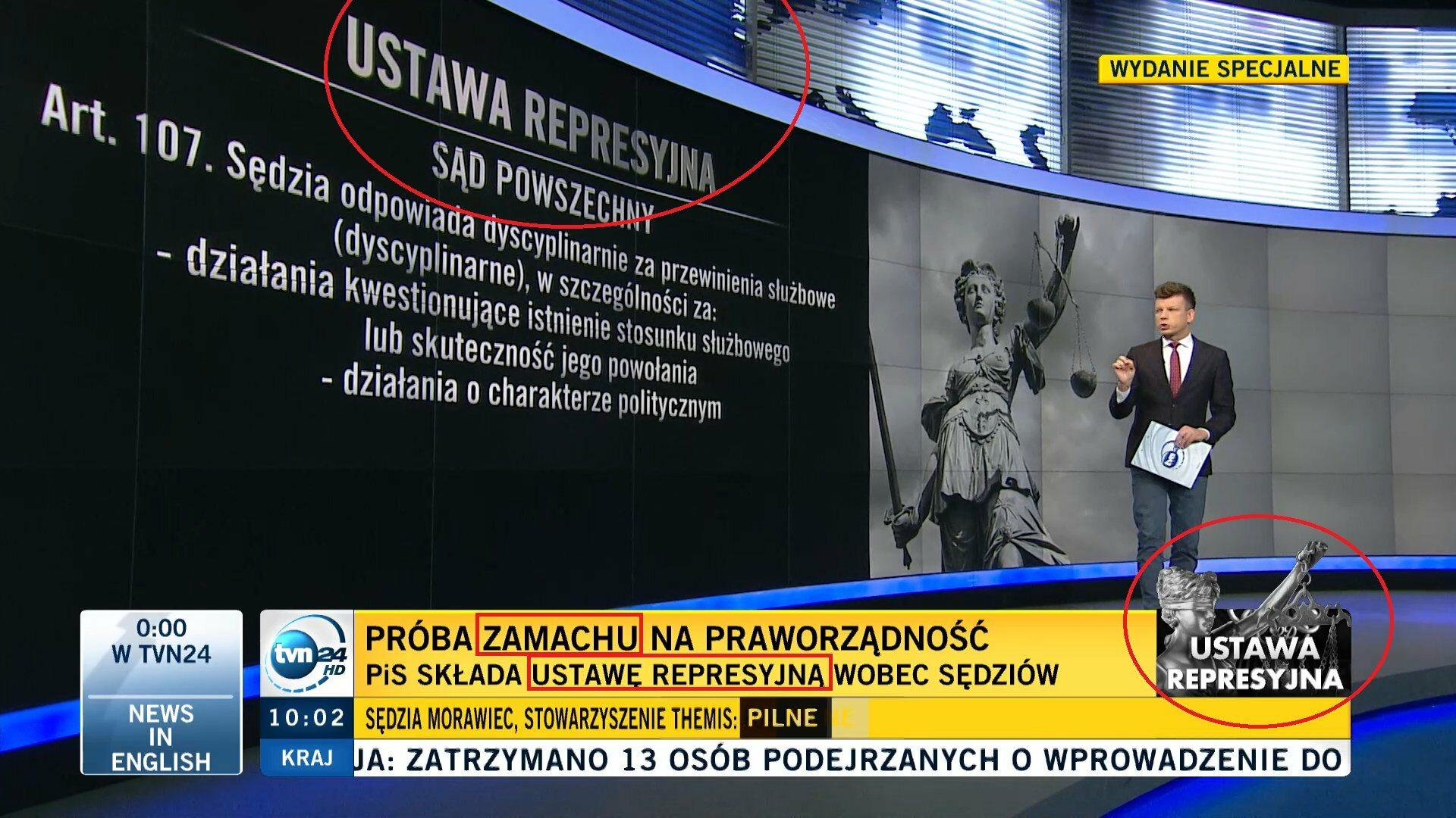 """TVN straszy """"ustawą represyjną"""""""