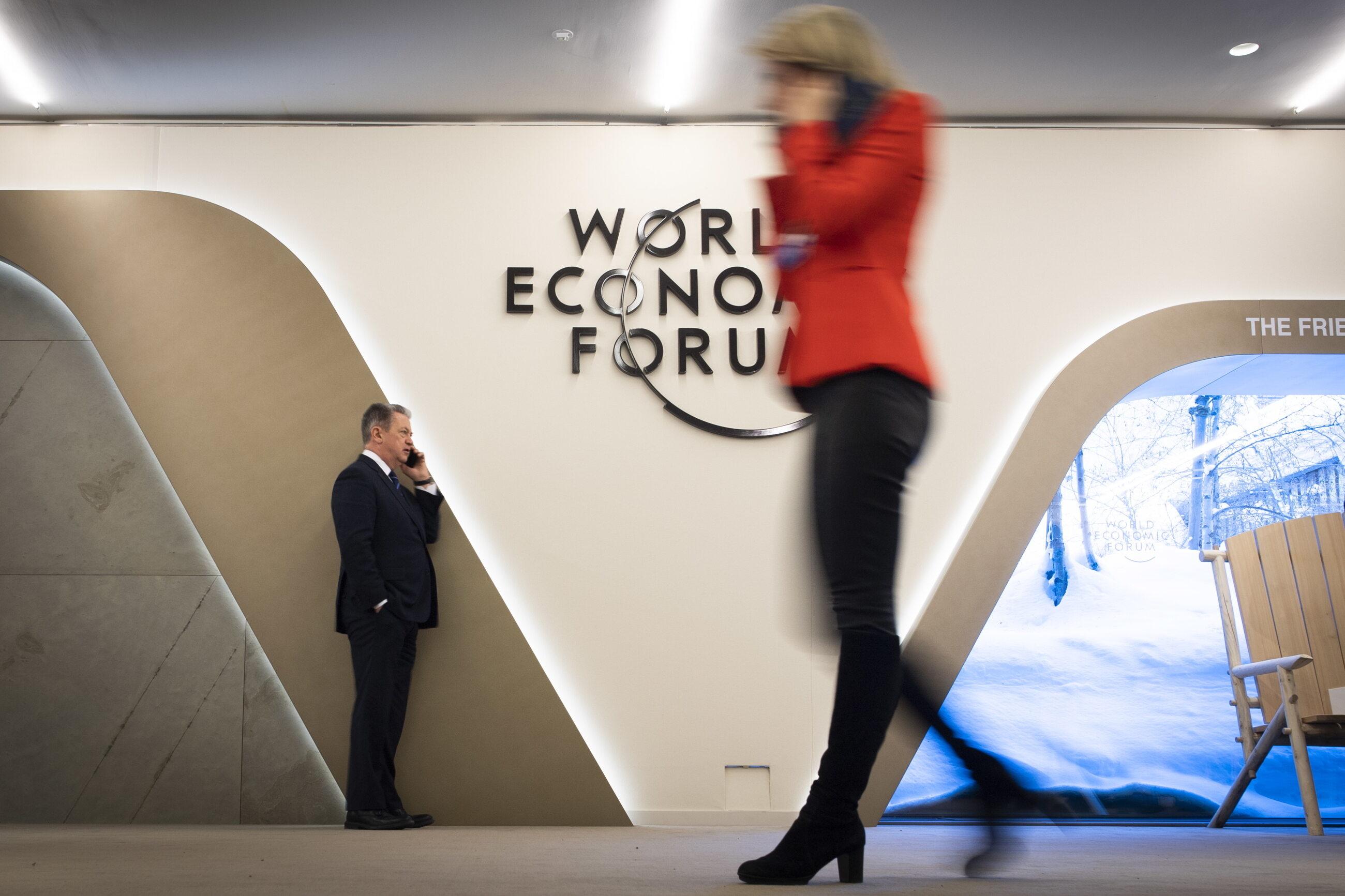 Uczestnicy Światowego Forum Ekonomicznego w Davos