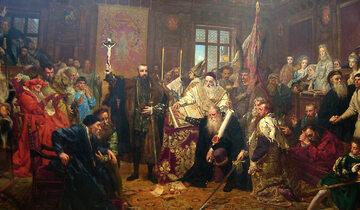 Unia lubelska, obraz Jana Matejki z 1869 roku