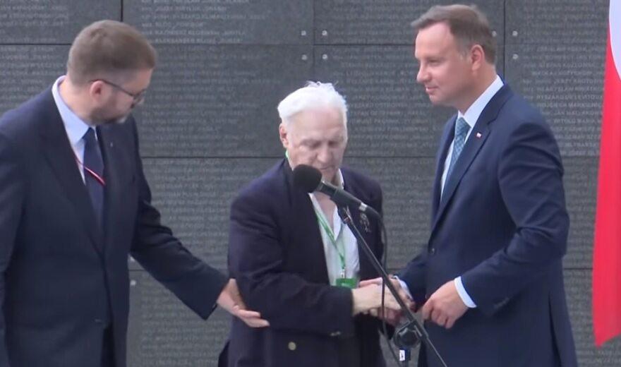 Uroczystość z okazji 74. rocznicy Powstania Warszawskiego