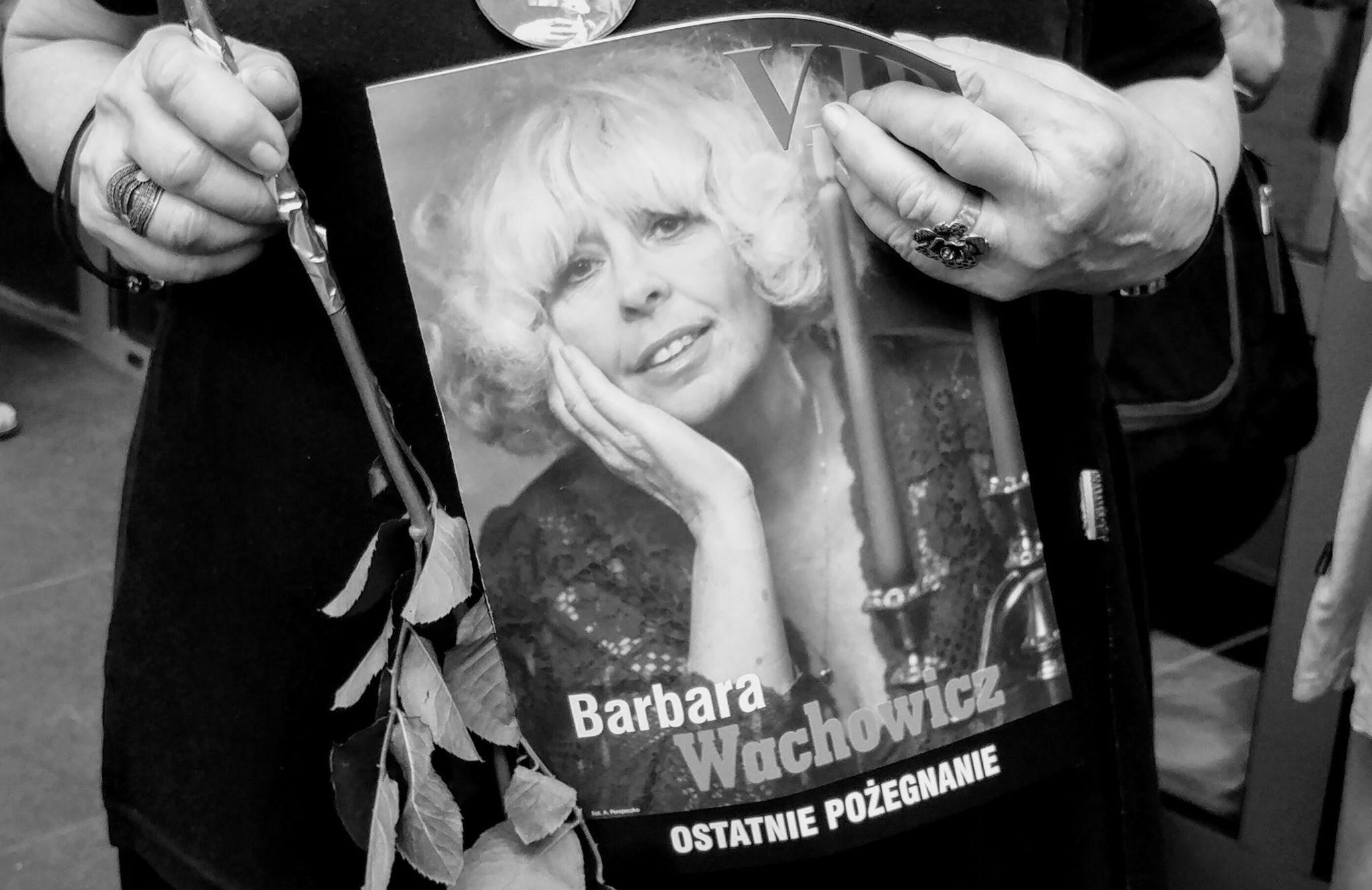 Uroczystości pogrzebowe Barbary Wachowicz