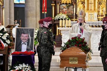Uroczystości pogrzebowe Krzysztofa Krawczyka