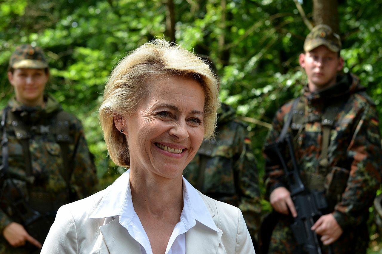 Ursula von der Leyen, minister obrony Niemiec