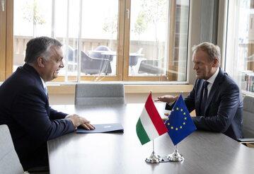 Viktor Orban i Donald Tusk
