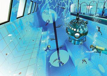 W Deepspot będą mogli nurkować zarówno freediverzy, jak i miłośnicy nurkowania z butlą