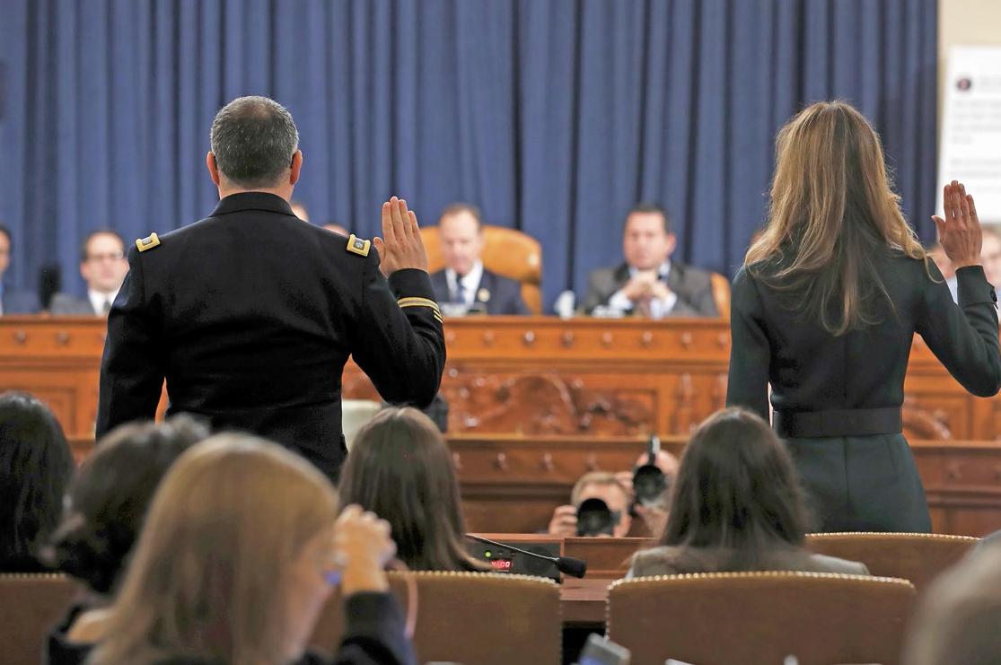 W Kongresie trwają przesłuchania w ramach dochodzenia w sprawie impeachmentu Donalda Trumpa