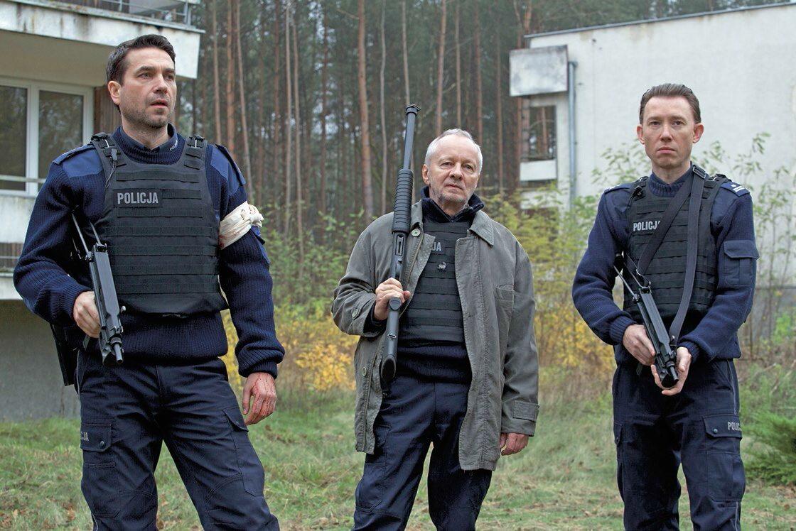 """W """"Pitbullu"""" Pasikowskiego potencjał aktorów został wykorzystany, jak należy. Od lewej: Marcin Dorociński, Krzysztof Stroiński, Rafał Mohr"""
