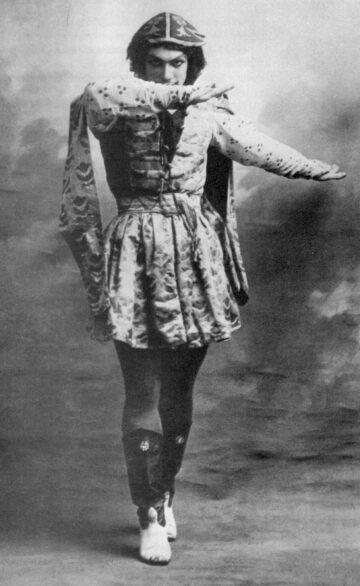 Wacław Niżyński, 1909 rok