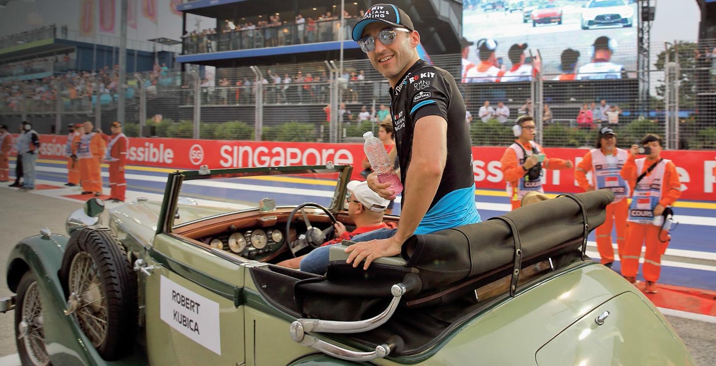 Według nieoficjalnych informacji w przyszłym sezonie F1 Robertem Kubicą zainteresowana jest ekipa Haas. O Polaka ma się też starać Racing Point