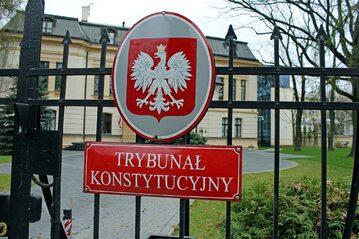 Wejście do siedziby Trybunału Konstytucyjnego