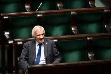 Wicemarszałek Sejmu Ryszard Terlecki w Sejmie.