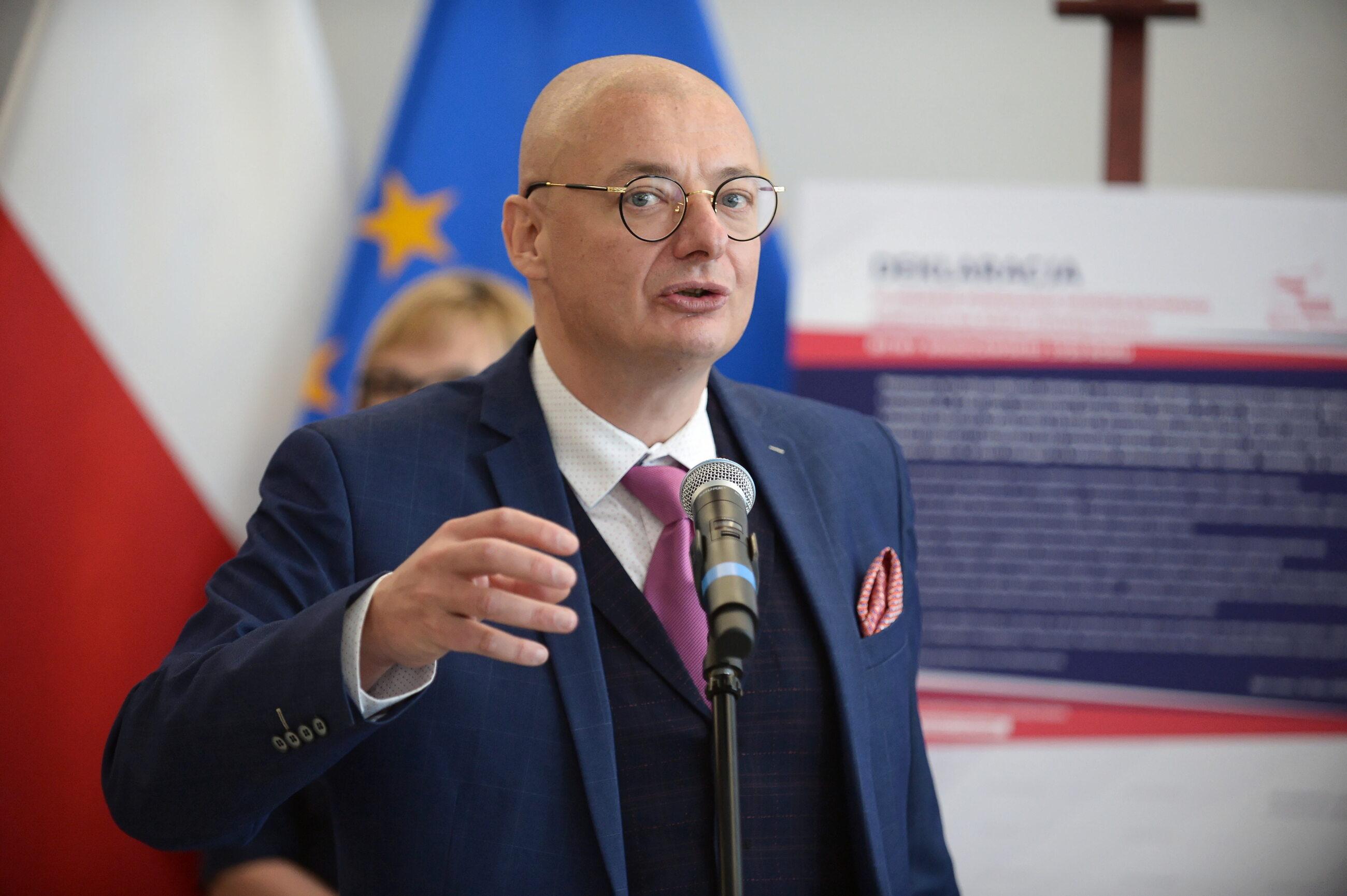 Wicemarszałek Senatu Michał Kamiński