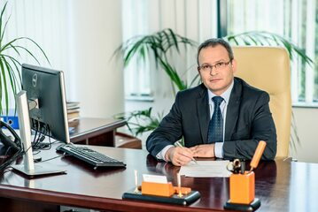 Wiceminister Maciej Miłkowski