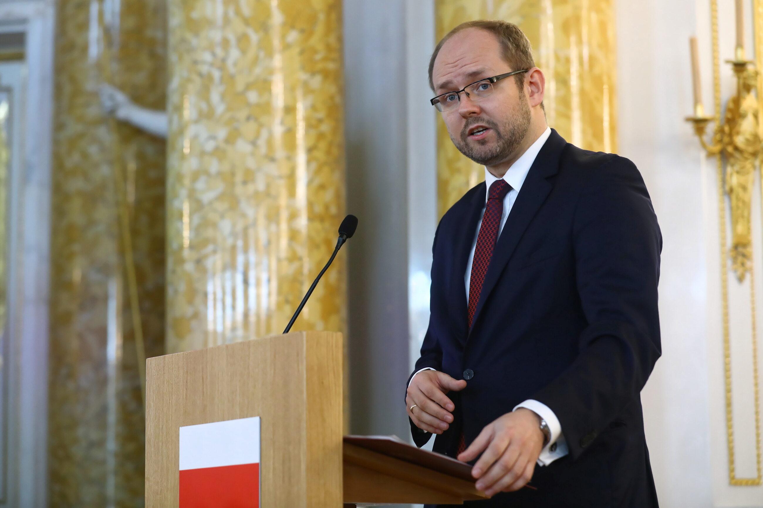 Wiceminister Marcin Przydacz