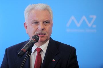 Wiceminister zdrowia Waldermar Kraska